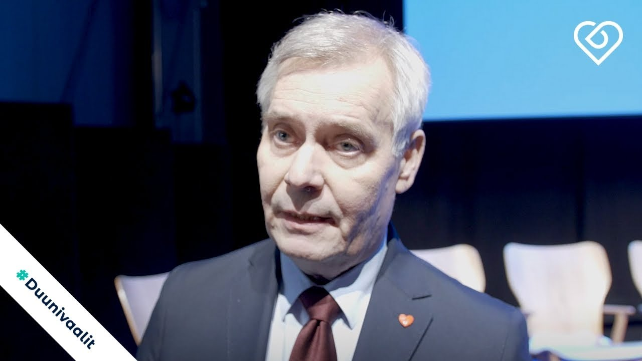 Antti Rinne Oletko Himoverottaja Akavan Vaalitentti