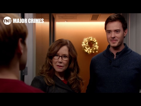 Major Crimes: Christmas Party- Season 3, Ep. 15 [CLIP] | TNT