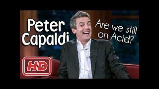 Peter Capaldi with Craig Ferguson! (Old Band Mates!)  Show