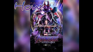 How to download AVENGER'S ENDGAME in TAMIL
