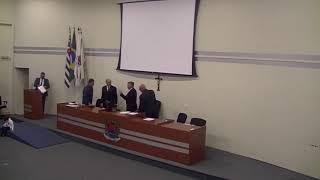 Entrega de Titulo de Cidadão Ararense ao Sr. Robson de Moraes