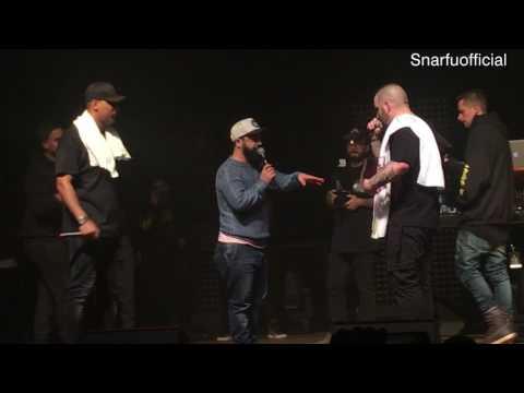 Fler erhält Live den HipHop.de Musik Award 12.02.2017 Berlin: Bester Rap-Solo-Act National