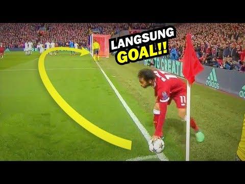 Detik-detik M.Salah membuat Dunia Tercengang Dengan Gol Tendangan Pojoknya. Mp3