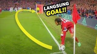 Detik-detik M.Salah membuat Dunia Tercengang Dengan Gol Tendangan Pojoknya.