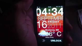 Excelente Lockscreen para iPhone 4/4S y 5