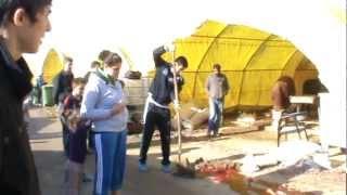 Kurban Kesimi 2012  KKB 15  Sheep slaughter Girl (Selin için çekilmiştir)