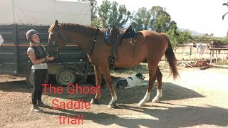 The first trial of the Ghost Saddle