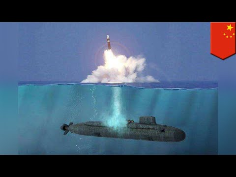 China Tests Next Gen Submarine-launched Ballistic Missile - TomoNews
