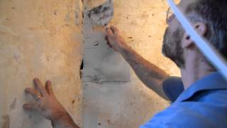 How to Patch and Plaster Walls in Your Old House