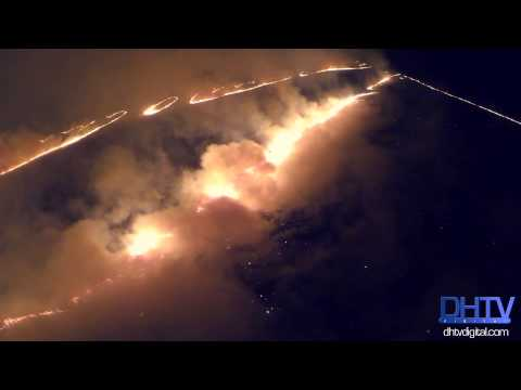 From the Sky: Prairie Fires in Kansas