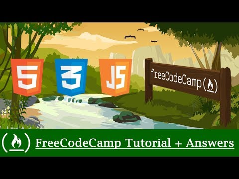 FreeCodeCamp Tutorial + Answers #1: Say Hello To HTML Elements - HTML/CSS