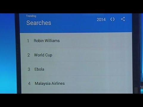 Google's top trends in 2014