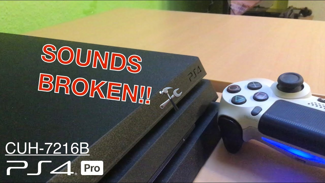 Ps4 Pro Annoying Coil Whine Sound Spulenfiepen Cuh 7216b W Rainbow Six Siege Youtube