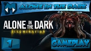 ALONE IN THE DARK: ILLUMINATION COOP #1 - SOBREVIVENDO AO ESCURO! / Gameplay 1080p 60fps  PT-BR