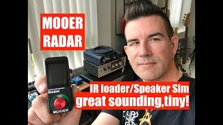 MOOER RADAR - AWESOME GUITAR CAB TONE in a tiny pedal!