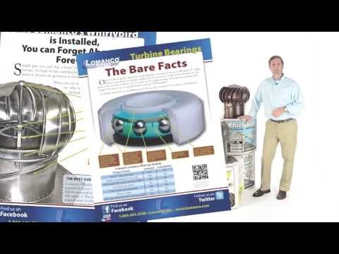 How To Install A Lomanco Whirlybird 174 Turbine Vent Add