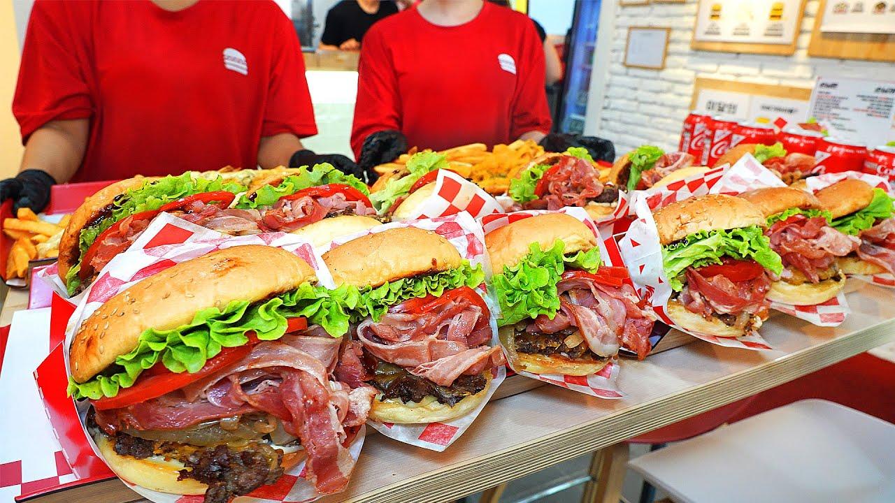 25평 매장에서 연매출 10억 대박 햄버거? 푸드트럭부터 시작해서 하루 500개도 팔리는 미국 인앤아웃 스타일 햄버거┃IN-N-OUT style burger in Korea
