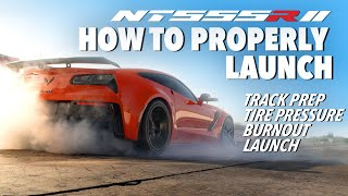 How to Launch a Drag Car with Nitto NT555RII Tires
