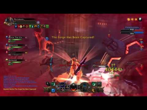 Neverwinter: Full Guardian Fighter PvP Gameplay (PS4)
