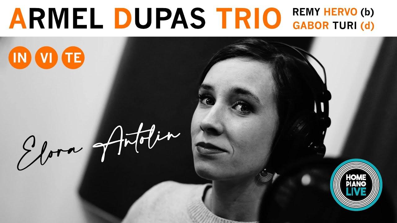 Swing et improvisations endiablées avec Elora Antolin