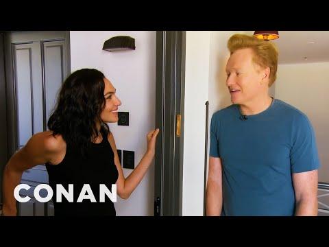 #ConanIsrael Sneak Peak: Gal Gadot  - CONAN on TBS