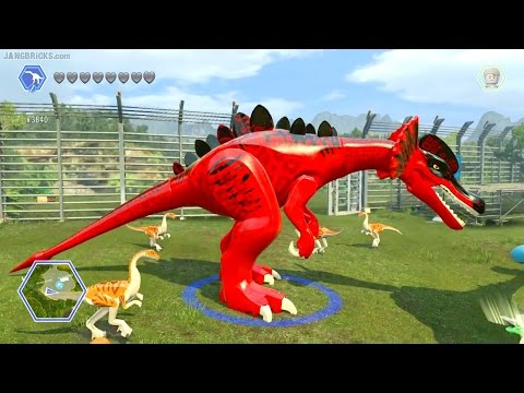 LEGO Jurassic World game 🎮 CUSTOM Dinosaurs!