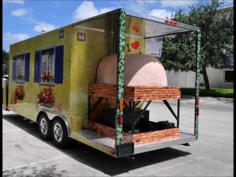 Brick Oven Pizza Trailers