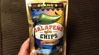 Deano's Jalapeños Sea Salt Jalapeño Chips Review