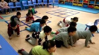 ESL kindergarten  Demo class,Parents opening day part 1.