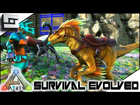 ARK: Survival Evolved - PERFECT TAME! NEW RAPTOR! S2E48 ( Gameplay )