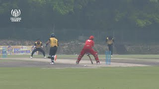 ICC CWC Challenge League Group A | Match 1 | DEN v MAS | Match highlights
