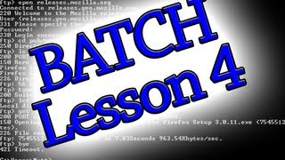 batch programing lesson 4 how to copy move and rename files more