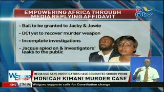 NGO files affidavit seeking bail for murder suspects Jowie and Jacque Maribe