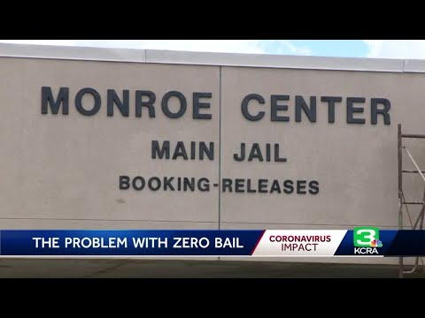 3 more inmates rearrested in Yolo County after $0 bail release