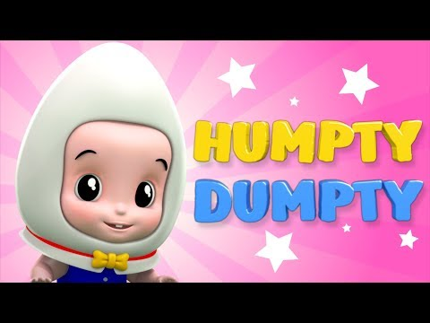 Humpty Dumpty Song For Children Nursery Rhyme Kids Songs Video For Babies Junior Squad by Kids tv