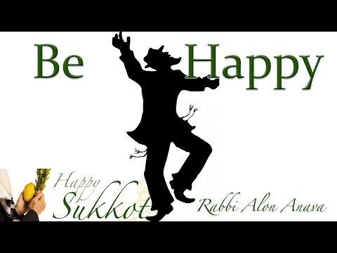 The importance of joy - Rabbi Alon Anava