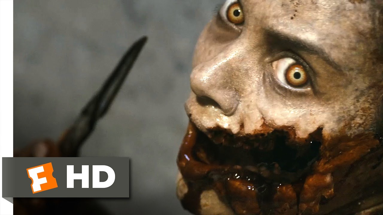 Download Evil Dead (5/10) Movie CLIP - Face Carving and Head Bashing (2013) HD