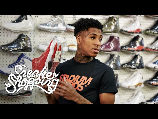 ebd3b14c6cdb YoungBoy Never Broke Again Buys Fan Air Jordans While
