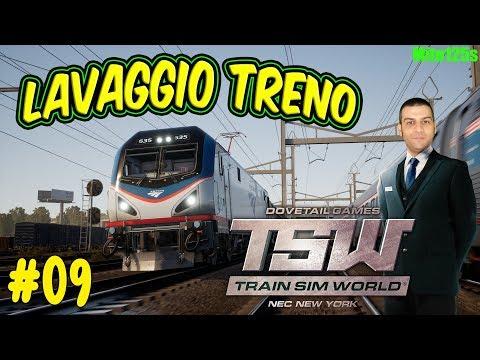 Lavaggio treno - Train Sim World: Northeast Corridor New York #09