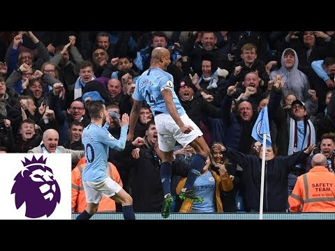 Kompany hits unbelievable strike to put City ahead v. Leicester City | Premier League | NBC Sports