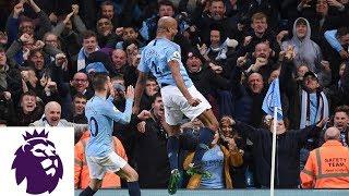 Kompany hits unbelievable strike to put City ahead v. Leicester City   Premier League   NBC Sports