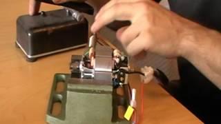 Récupération moteur électrique blender