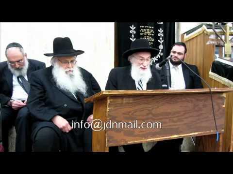 Rav Belsky Returning To Yeshiva Torah Vodaath Sivan 5772