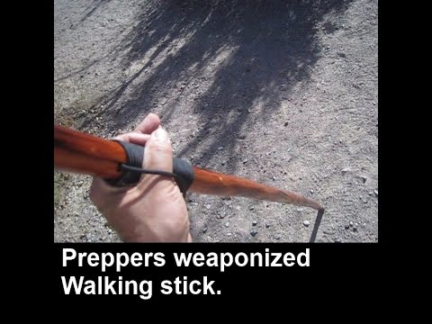 Weaponized walking stick + a quick tour of Tent Rock National  Monument