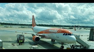 easyJet Airline -- London Gatwick (EGKK) to Larnaca (LCLK) -- EZY8967 -- Airbus A320