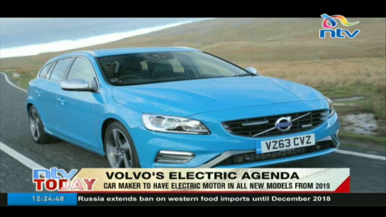Volvo to have electric motor in all new models from 2019