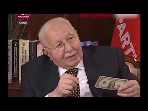 Necmettin Erbakan 1 Dolar'ın sırrını yıllar önce böyle anlatmıştı