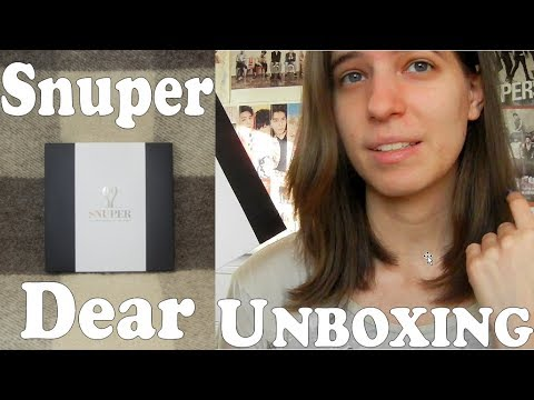 Unboxing - Snuper - Dear - 2nd single album for 2nd debut anniversary