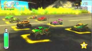 lets play SMASH CARS ps3