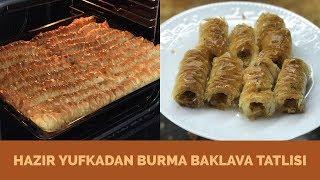 Hazır Yufkadan Burma Baklava Tatlısı - Naciye Kesici - Yemek Tarifleri